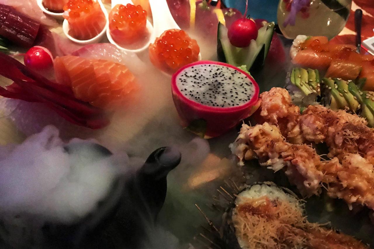 Just Cavalli Milano sushi Izakaya 78 pezzi