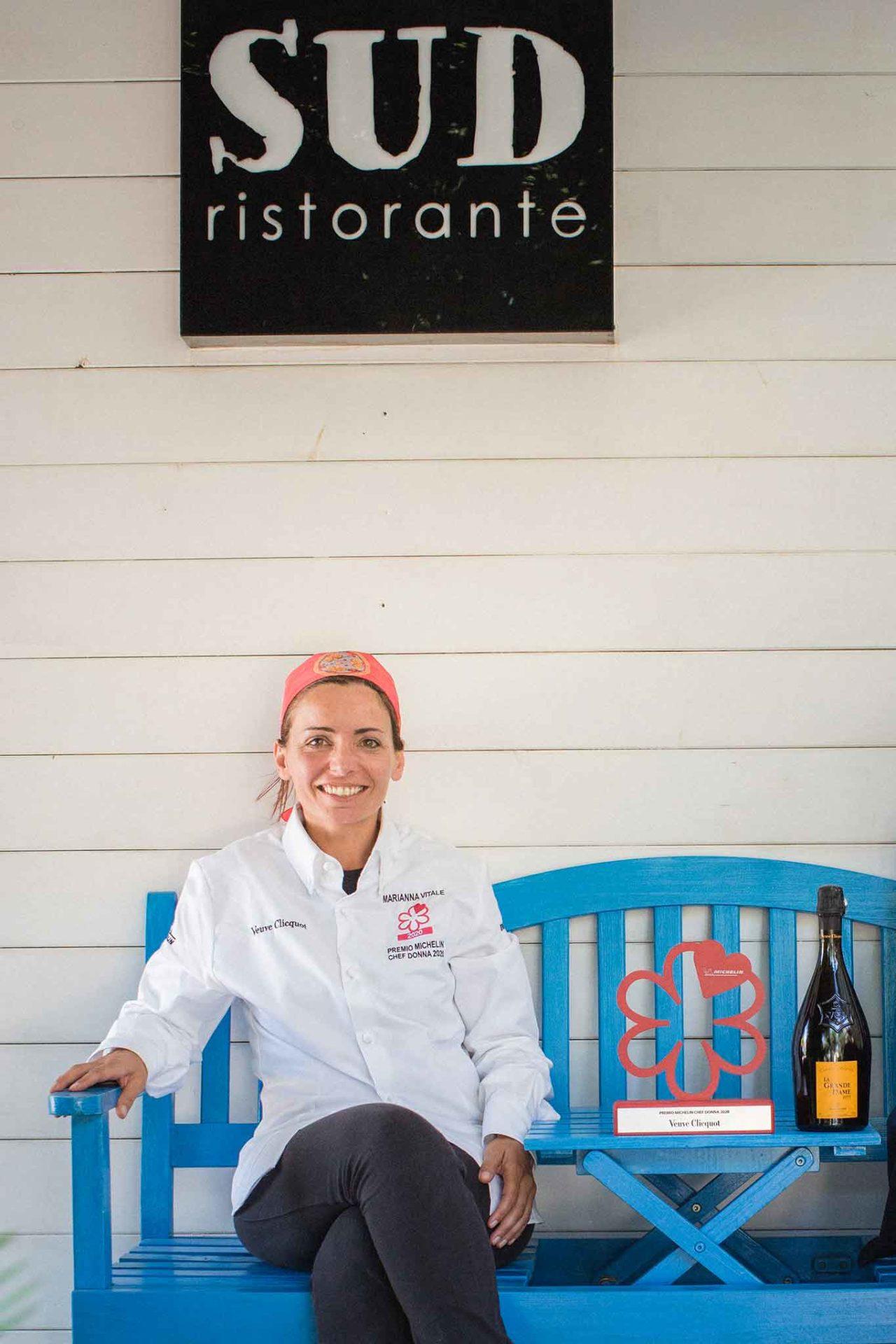 ristorante SUD a Quarto Guida Michelin chef donna