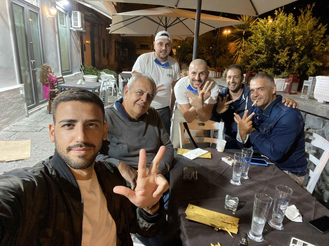 Pizzeria Diametro 33: Vincenzo Pagano con Pizza Napoletana, Campania Food Blog e Mister Mario