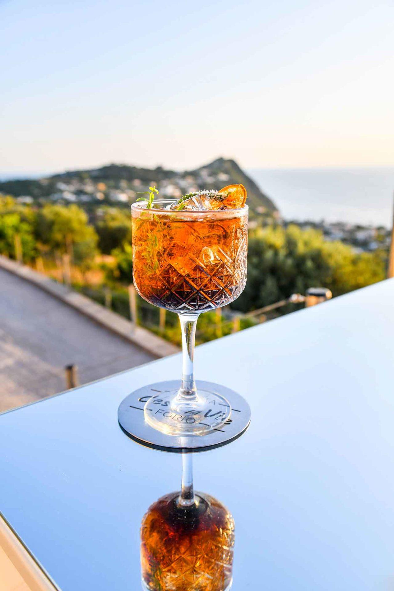 Tenuta C'est la Vie Ischia cocktail