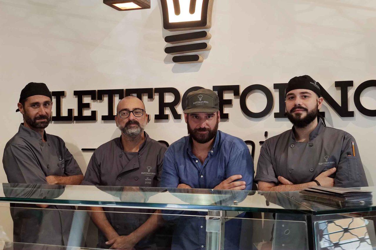 I quattro soci di Elettroforno Frontoni