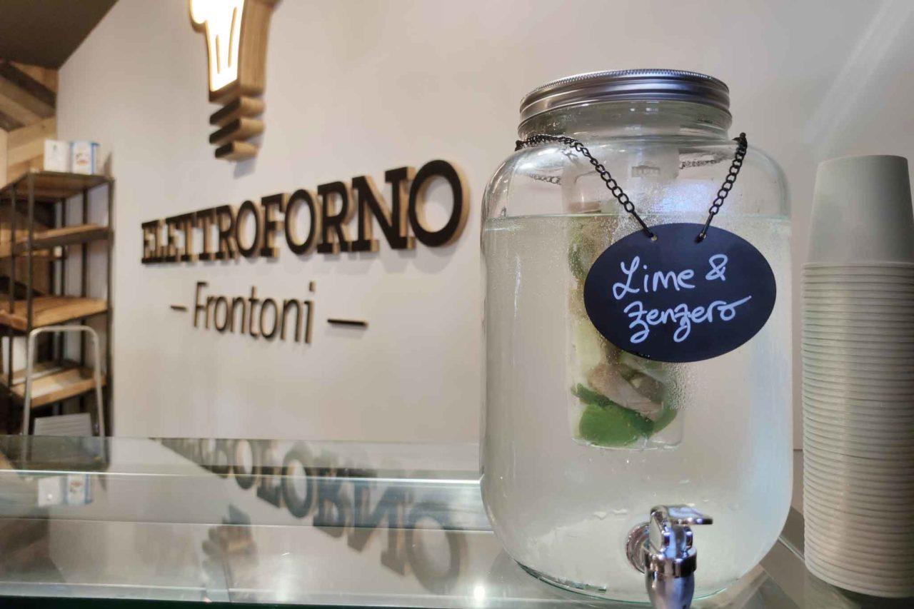 acqua aromatizzata da Elettroforno Frontoni