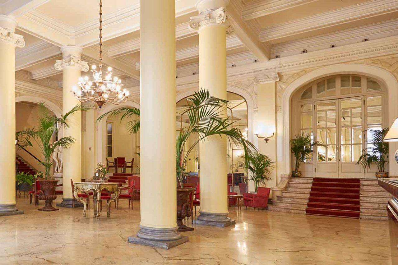 grand hotel et des palmes palermo vecchia hall