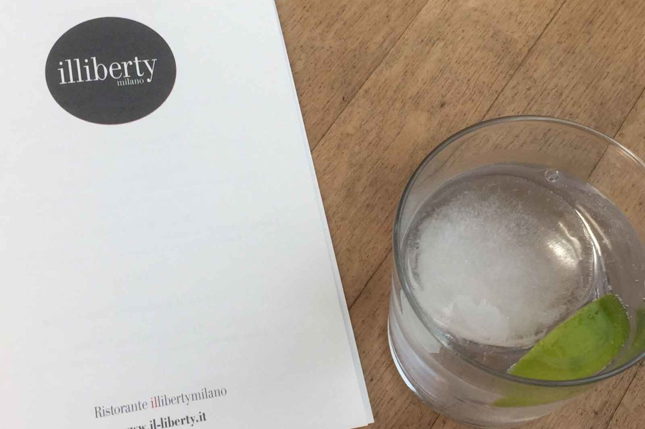 il liberty milano gin tonic