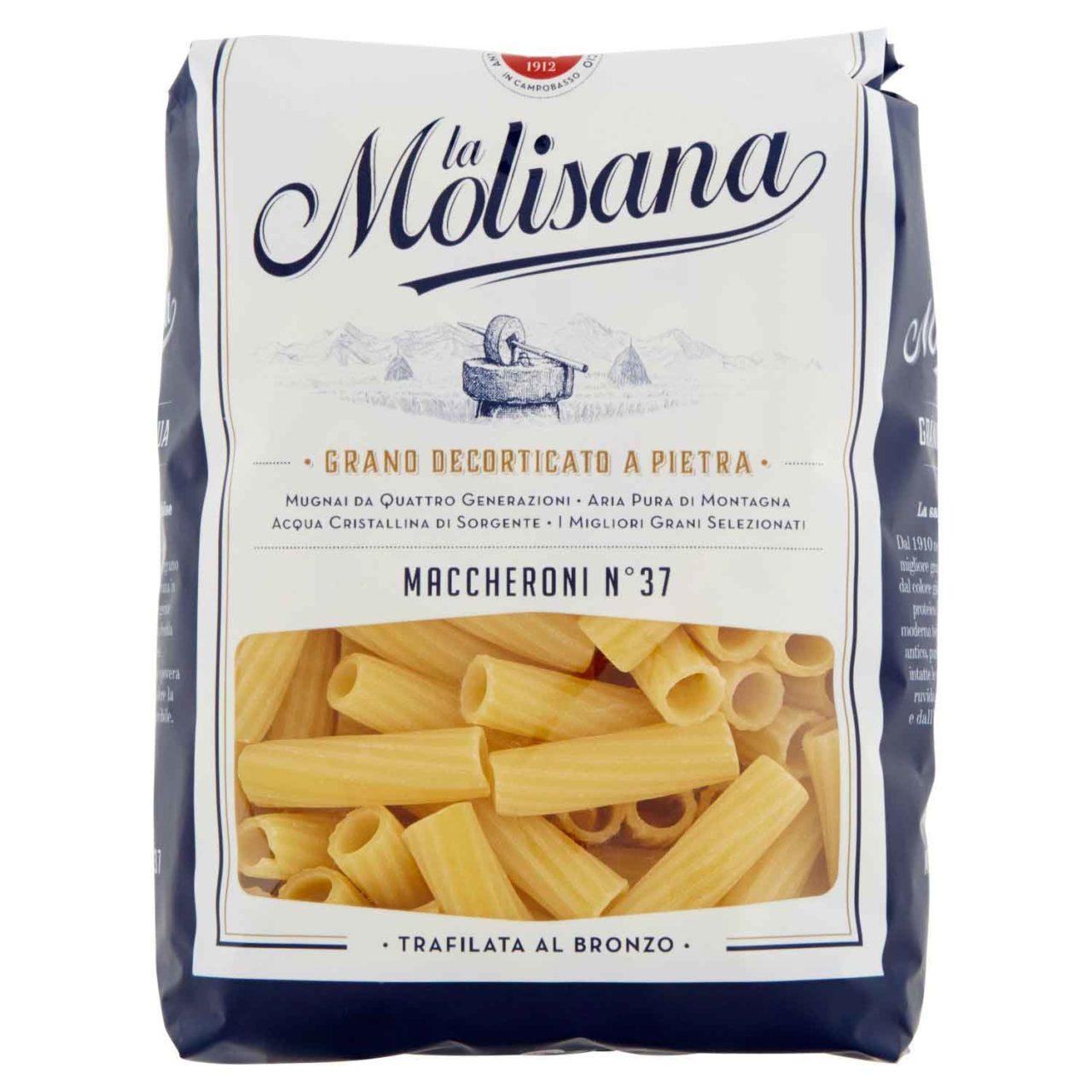 Pasta migliore al supermercato maccheroni La Molisana