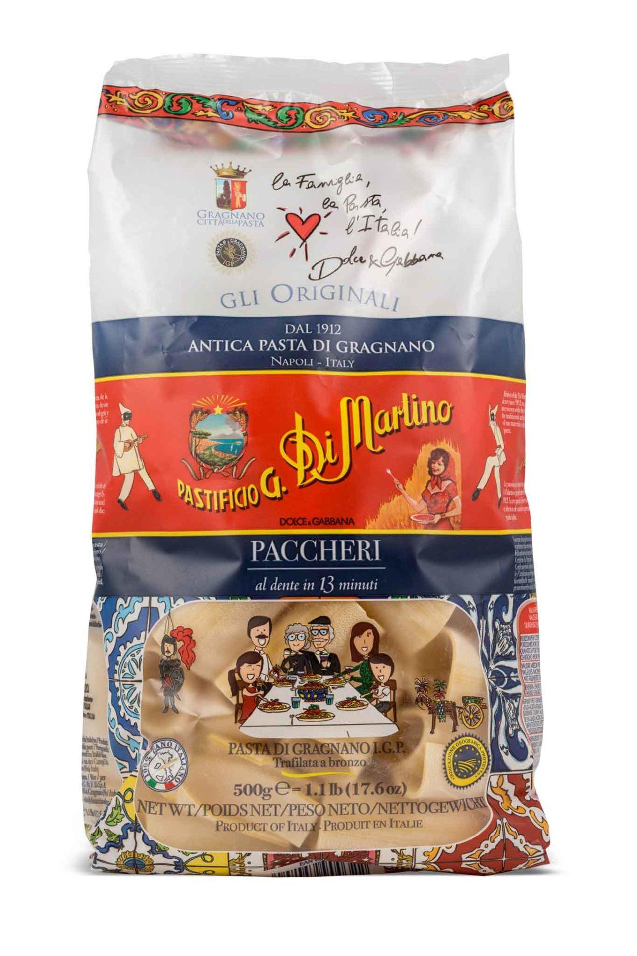 Pasta migliore al supermercato paccheri Di Martino