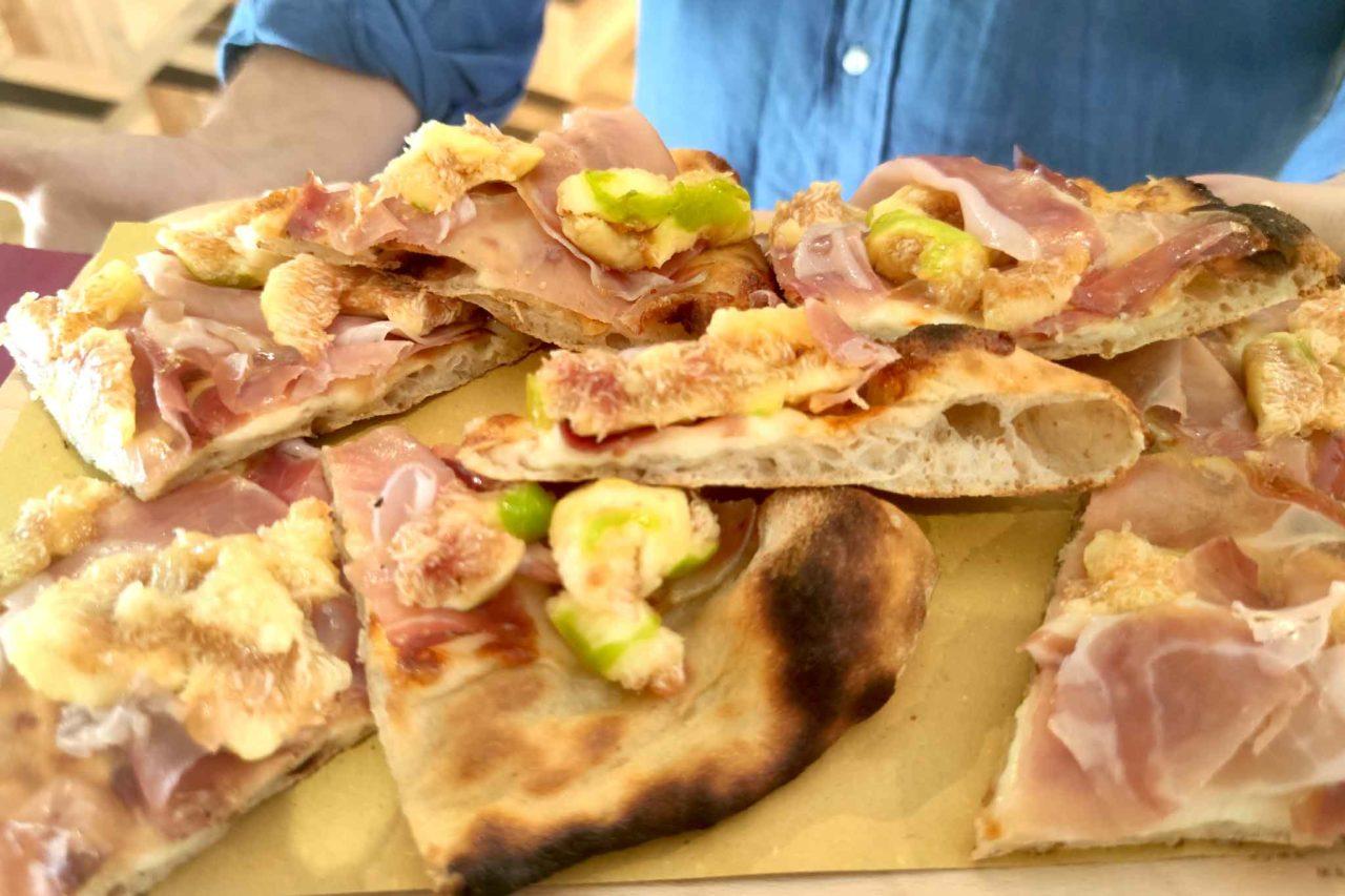 pizza prosciutto e fichi Elettroforno Frontoni