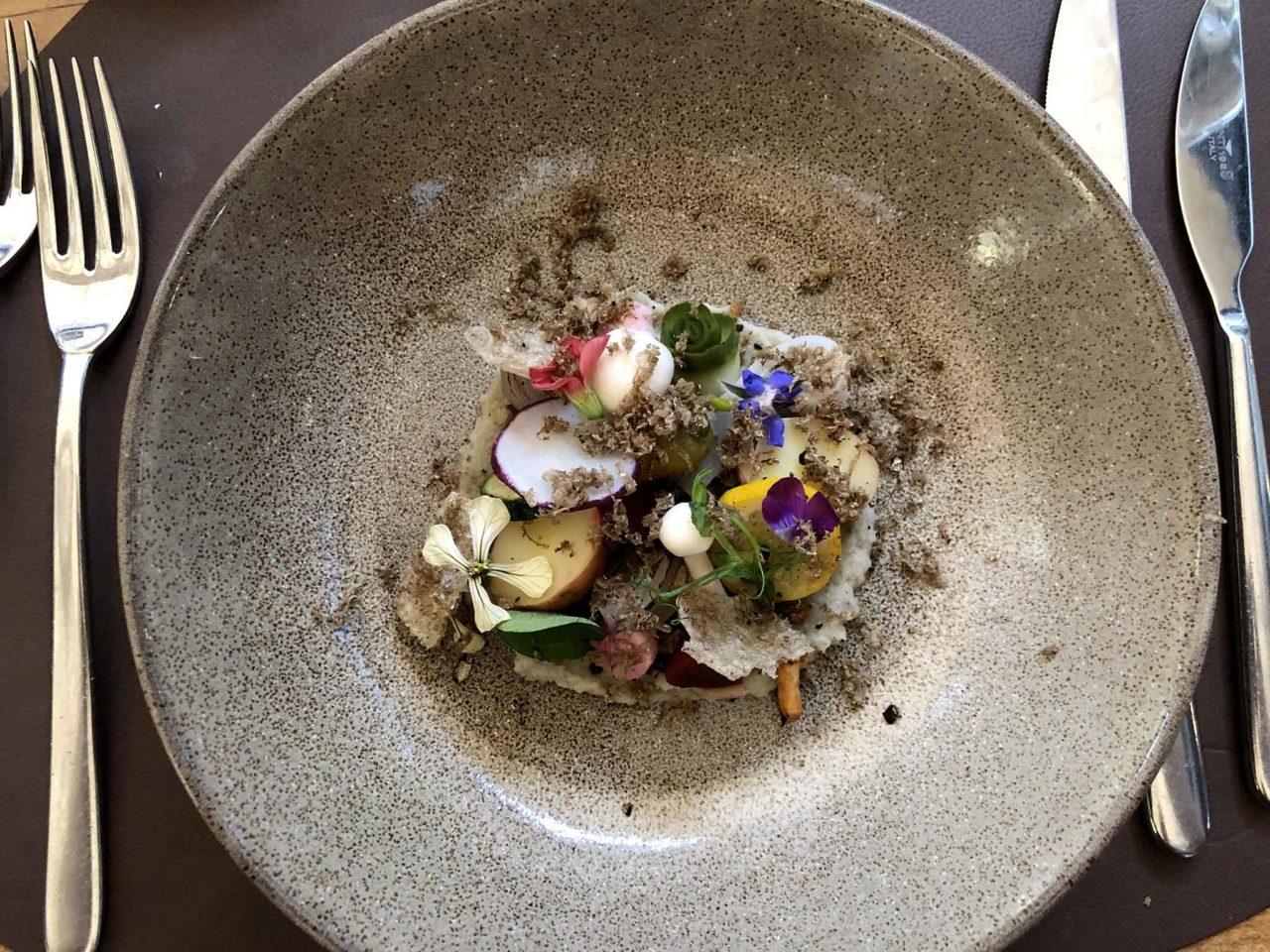 orto commestibile Aan Sjuuteeänjd ristorante sostenibile Olanda