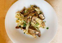 tagliatelle con i funghi porcini ricetta