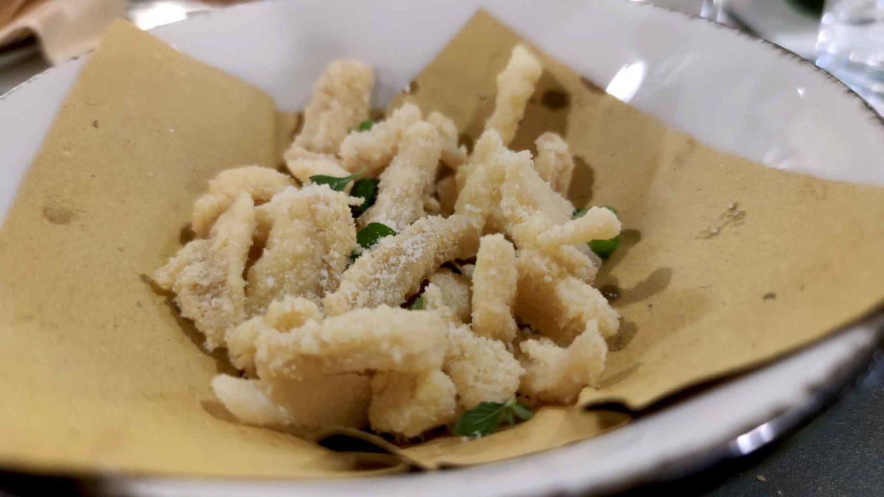 trippa fritta del Pastificio Sanlorenzo