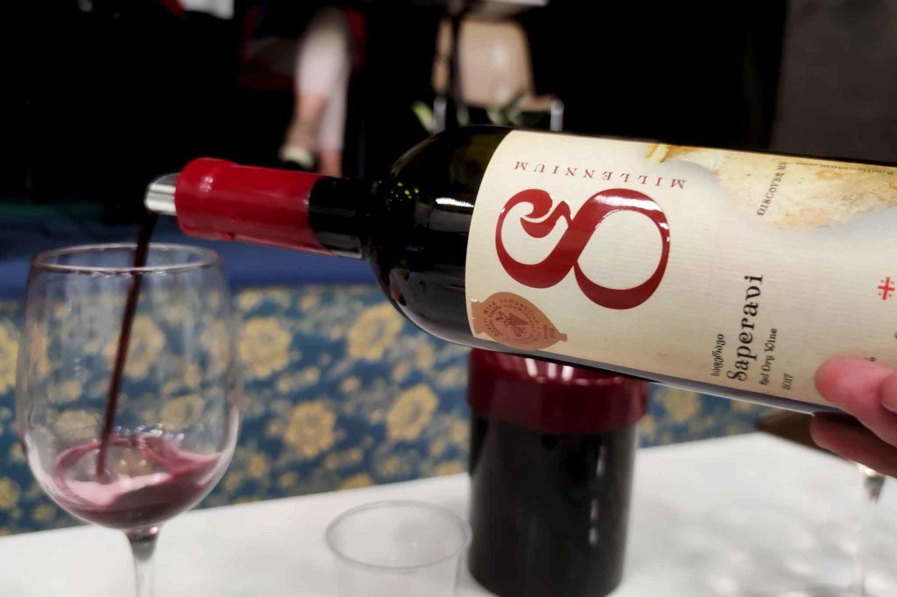 Saperavi 8 Millennium vino rosso di Georgia