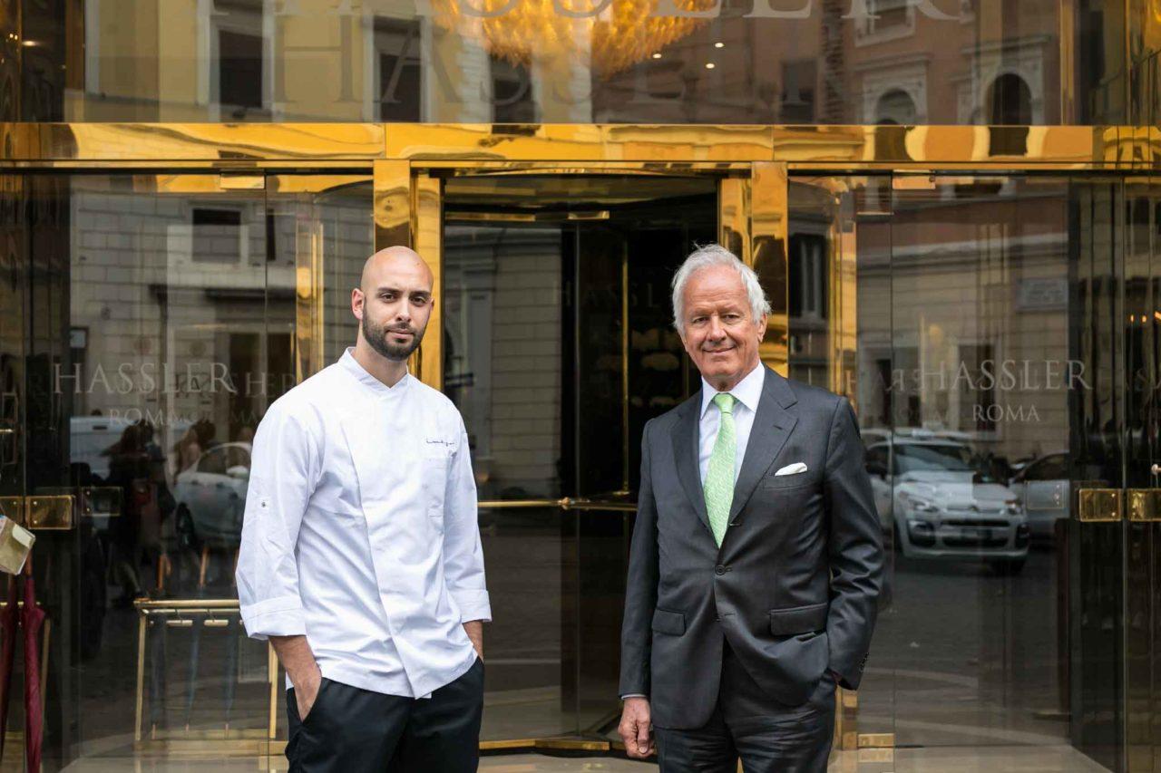 ANDREA ANTONINI ROBERTO WIRTH HASSLER IMAGO, ristoranti d'albergo