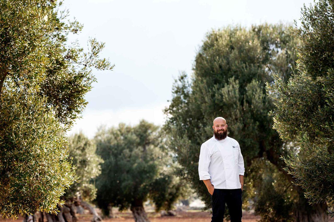 Domenico Schingaro ristorante Due Camini Borgo Egnazia