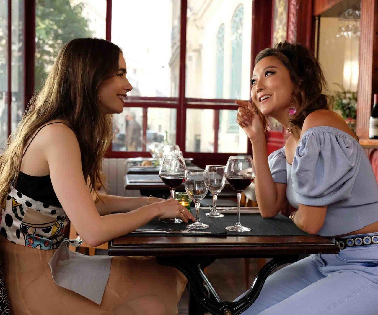 Emily In Paris episodio 2 Masculin Feminin