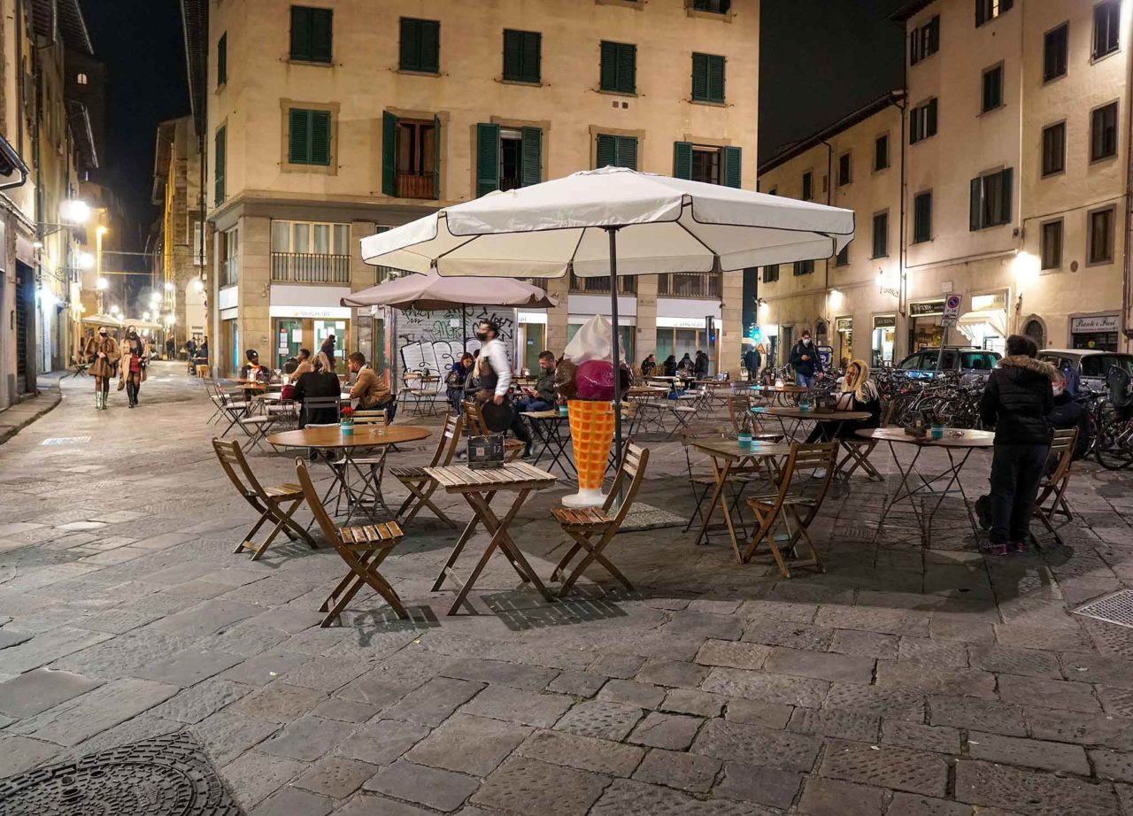 Firenze ristorante sera