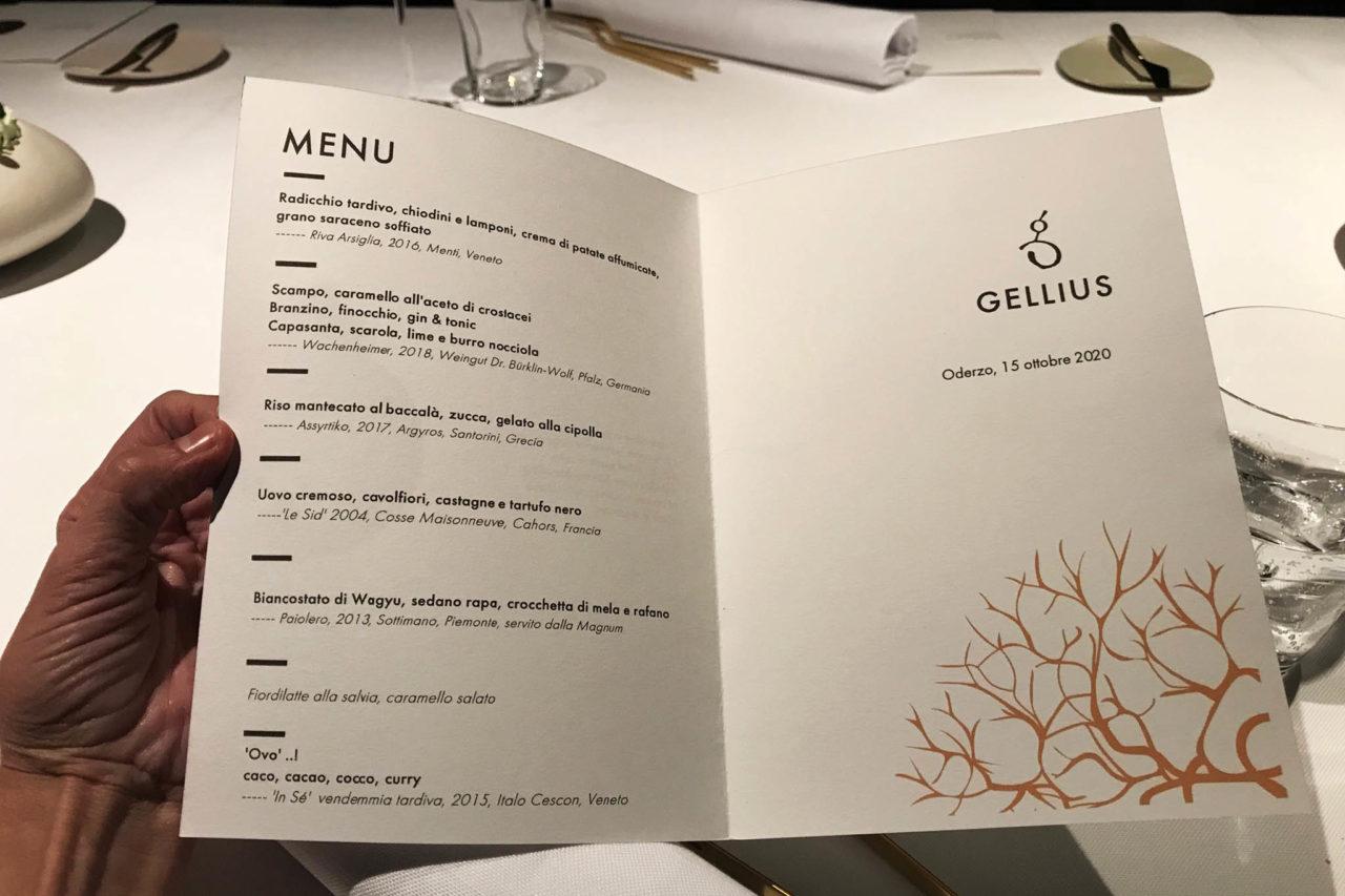 Gellius menu