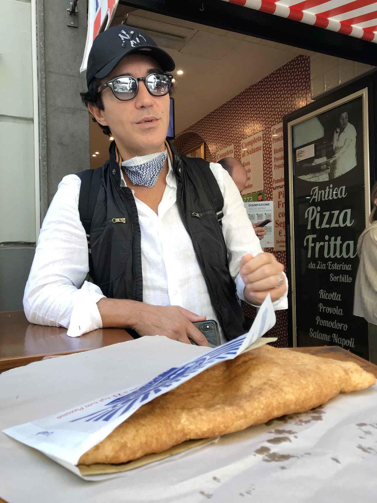 Gino Sorbillo pizza fritta