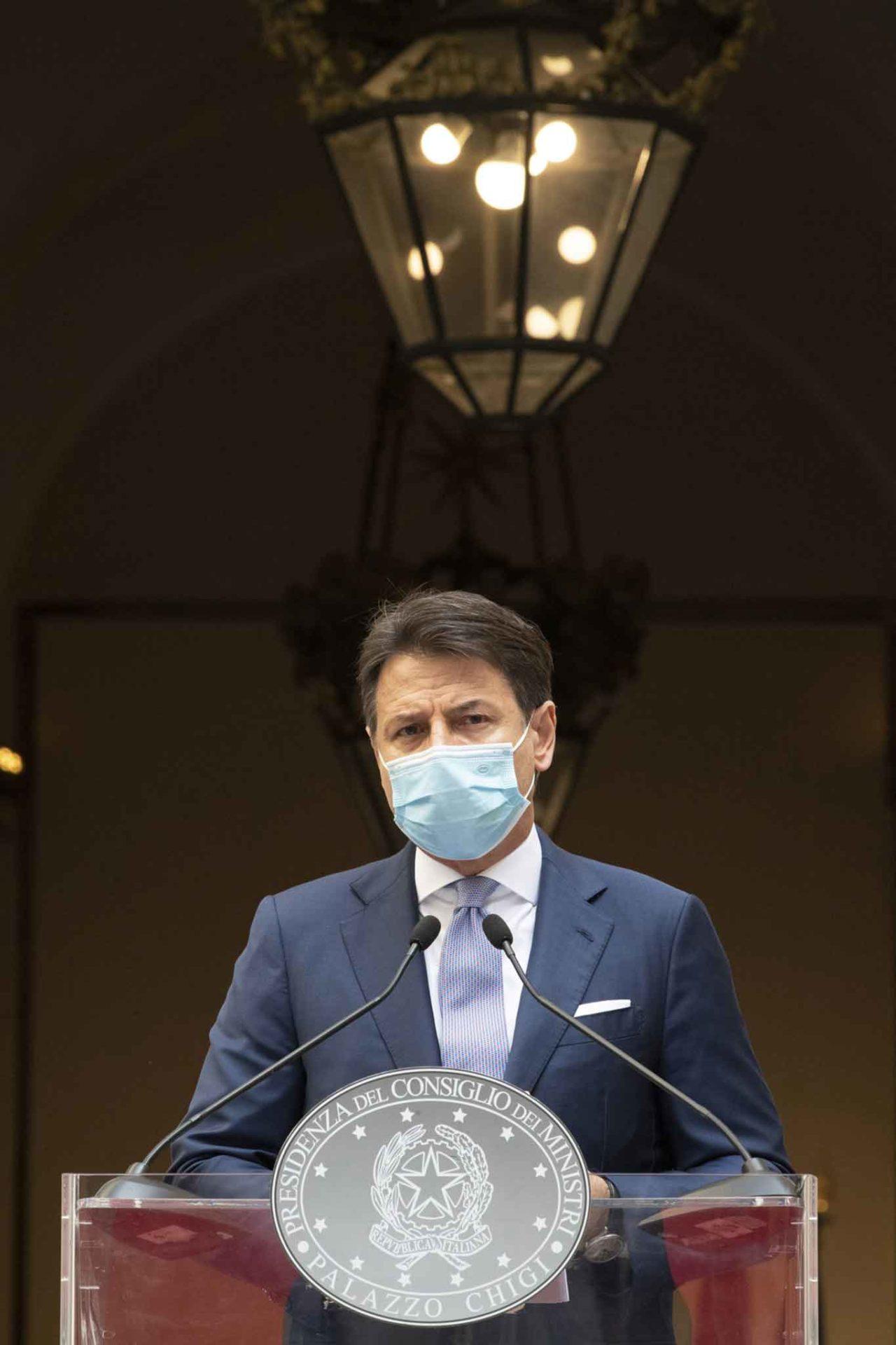 Giuseppe Conte nuovo Dpcm