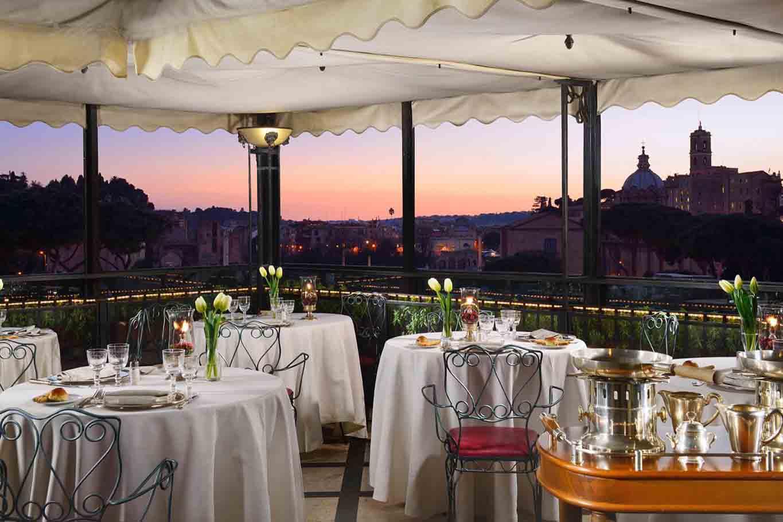 Hotel Forum Roma ristorante dpcm