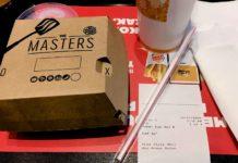 Master Angus Burger King confezione