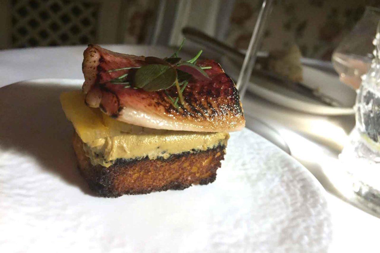 piccione anguilla Piccolo Harry's Restaurant Trieste