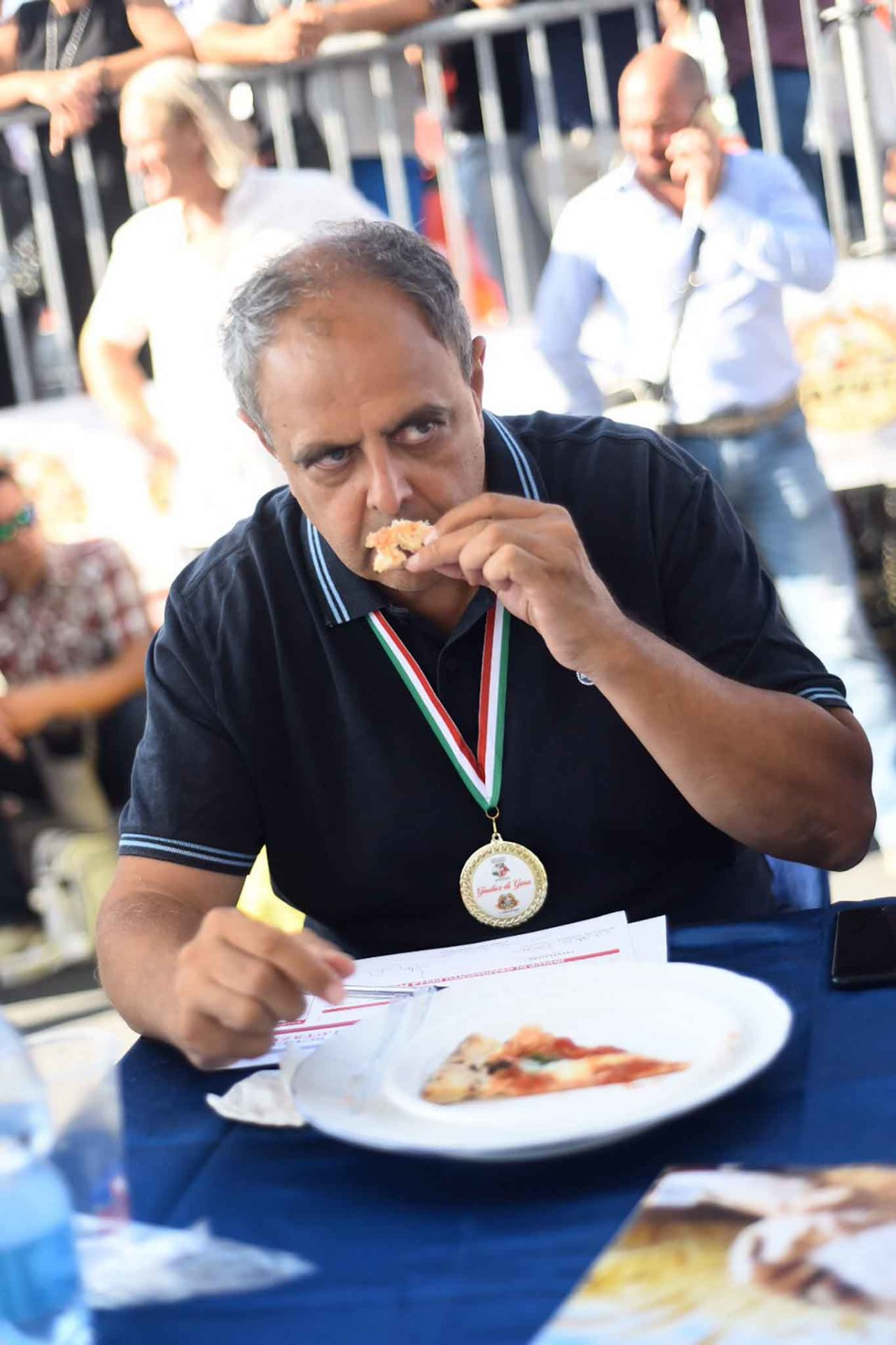 Vincenzo Pagano giudice pizze