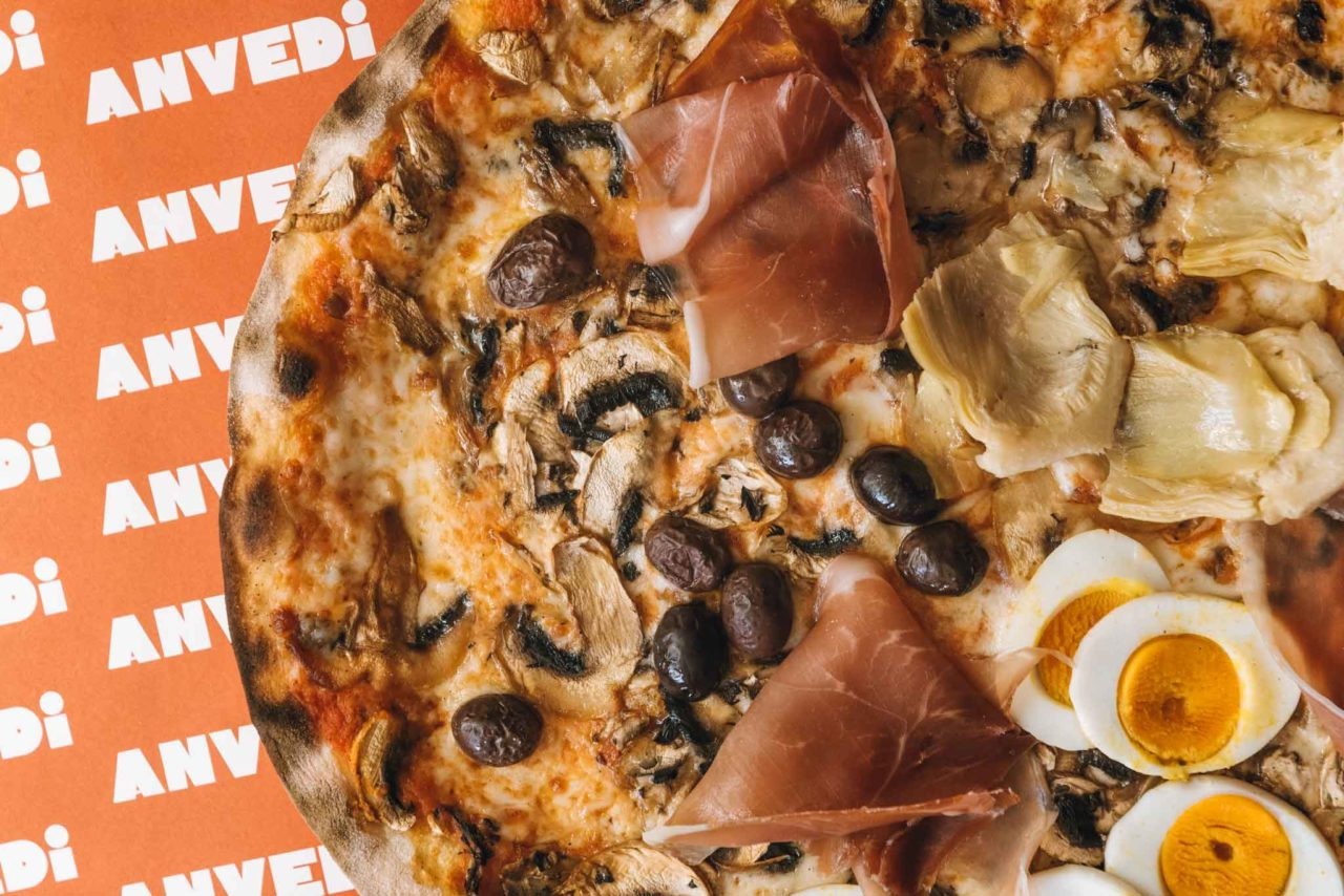 pizza capricciosa da Anvedi