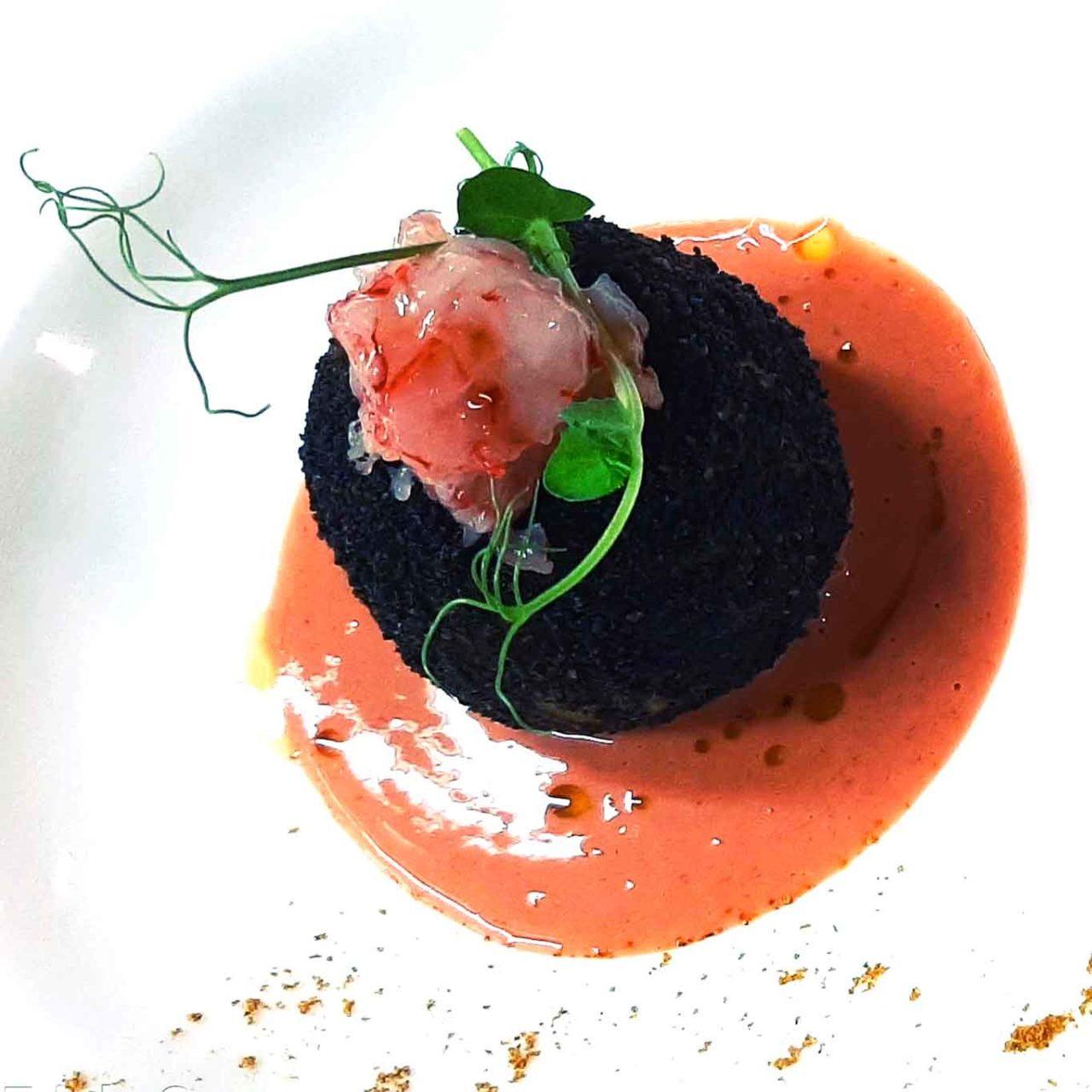 ristorante Amaranta Salento Puglia arancino