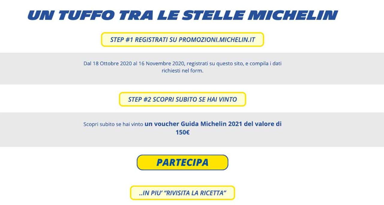 concorso Guida Michelin