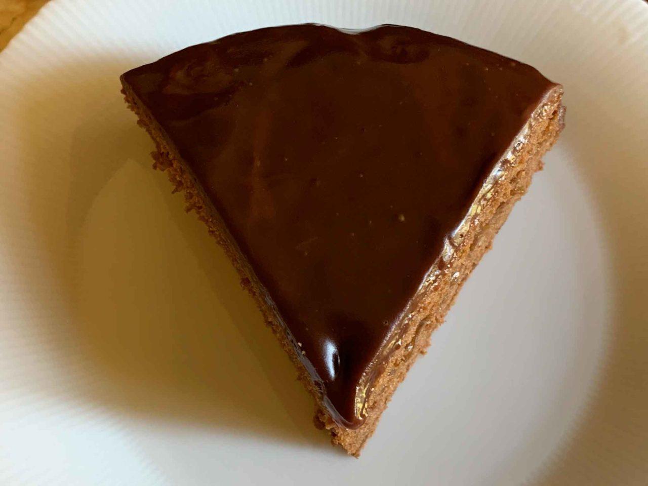 Torta Sacher fetta