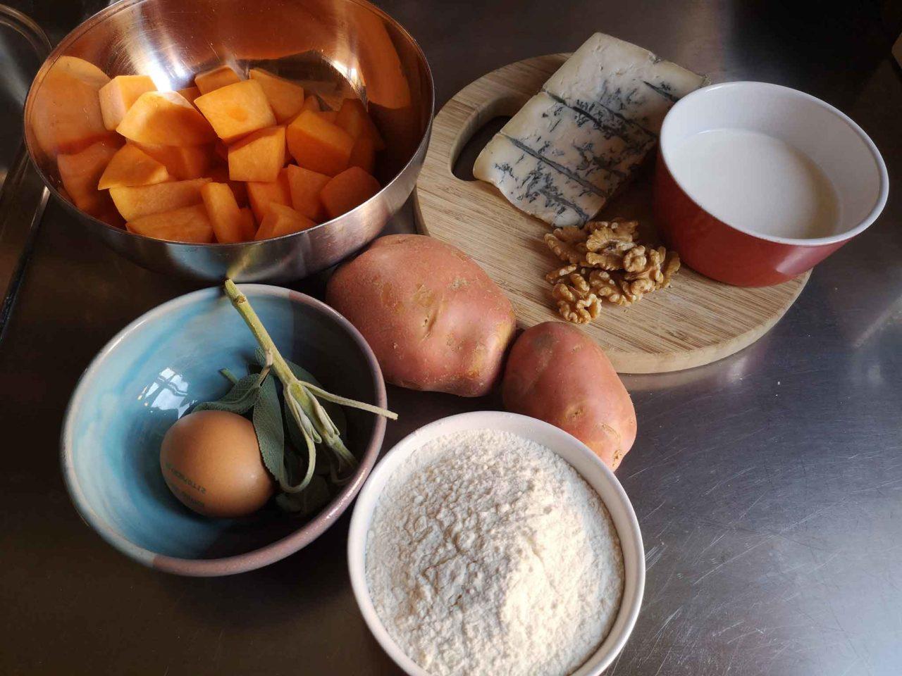 gnocchi di zucca ingredienti
