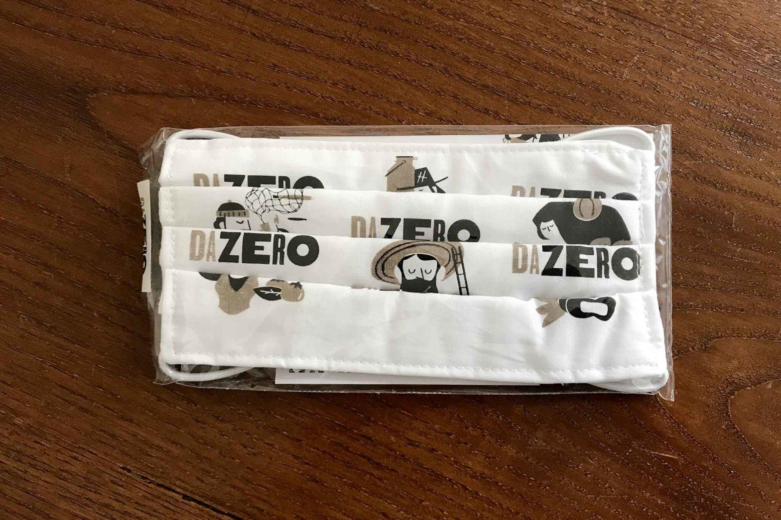 mascherine pizzeria Da Zero