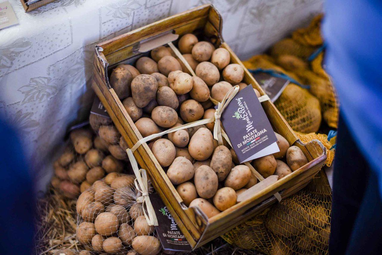 patate prodotti tipici del Cilento