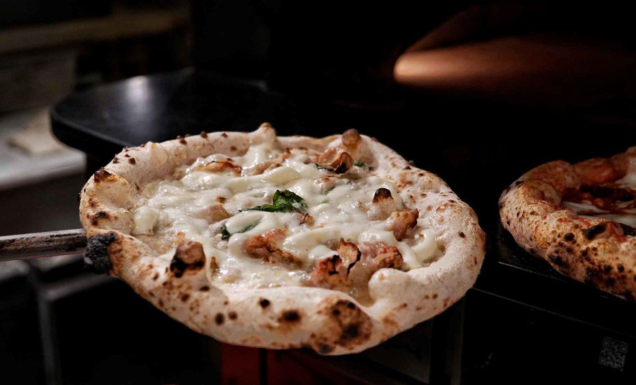 pizza Gricia da terminare pizzeria Da Zero Firenze