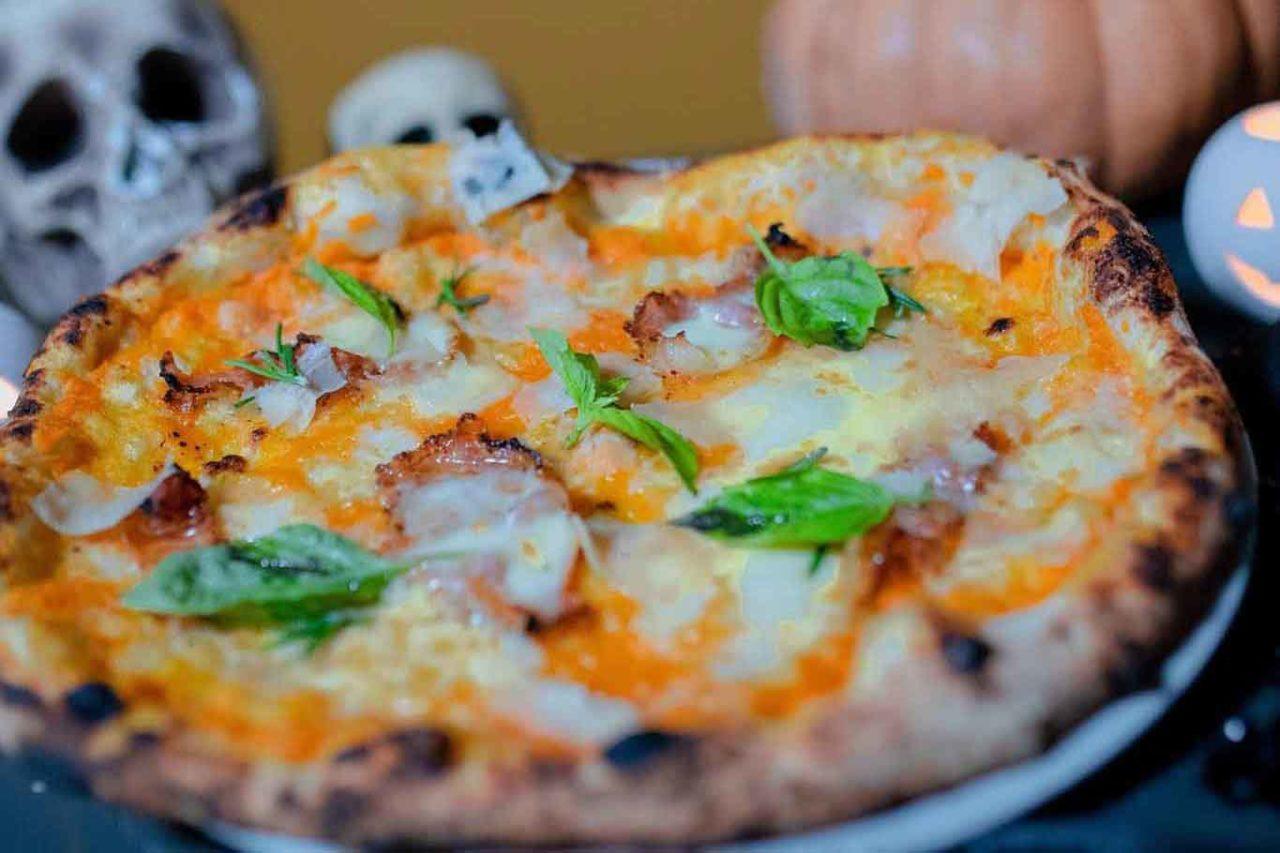 pizza allauin halloween da zero