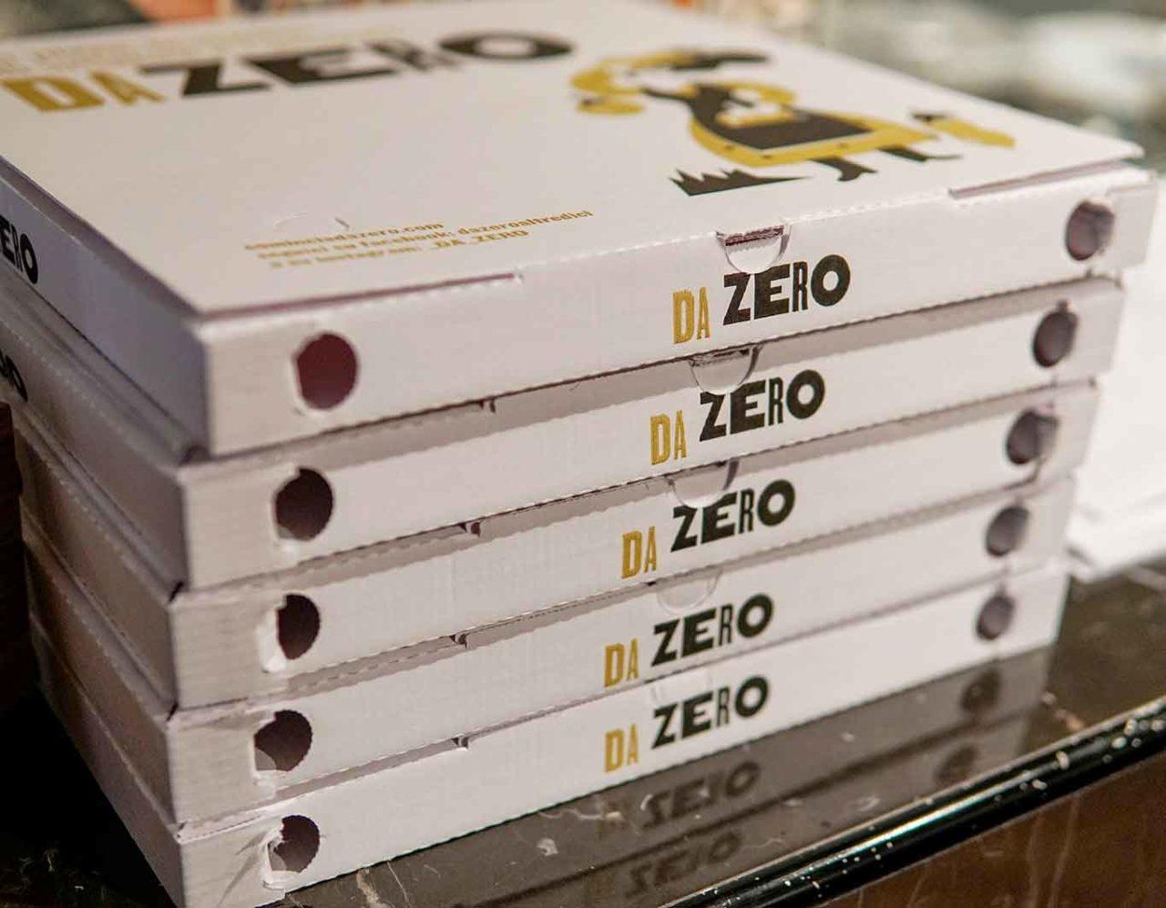pizza da asporto pizzeria Da Zero Firenze