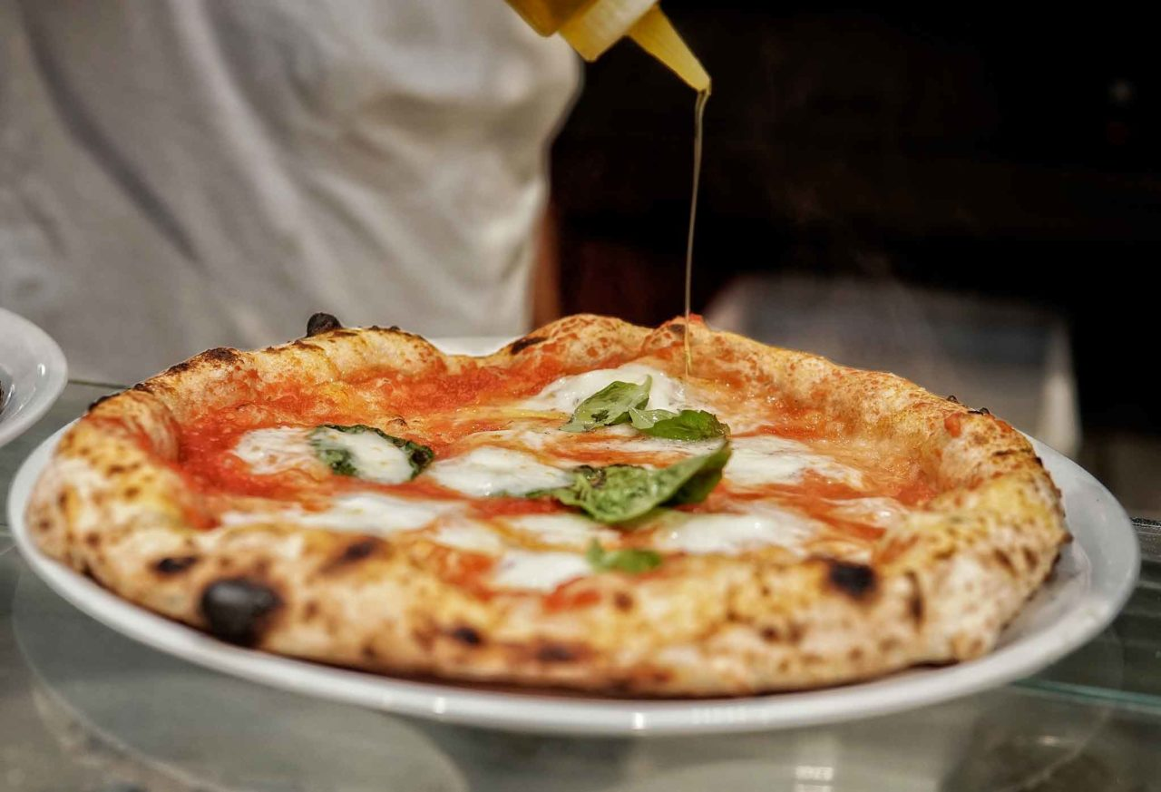 pizza margherita pizzeria Da Zero Firenze