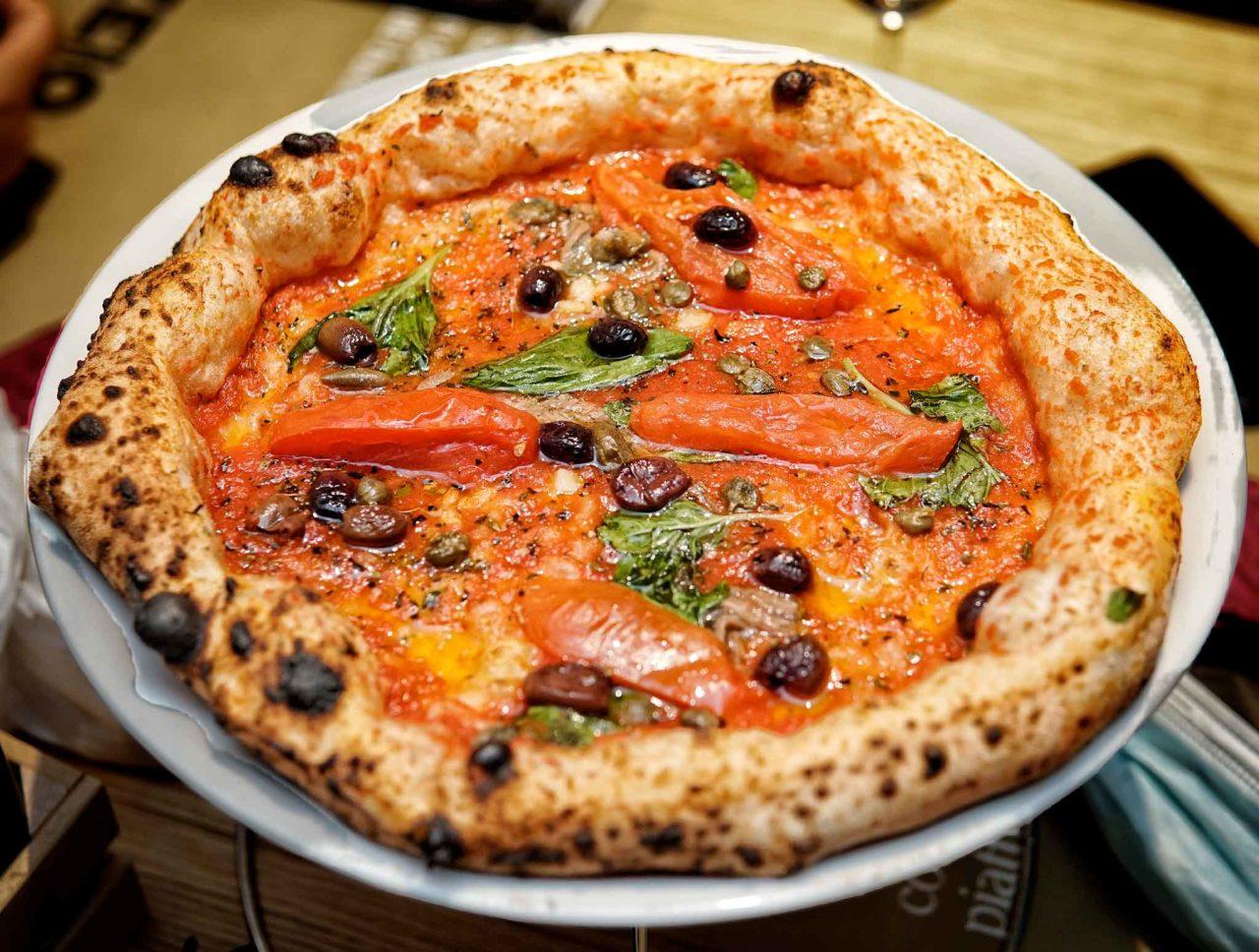 pizza marinara cilentana pizzeria Da Zero Firenze