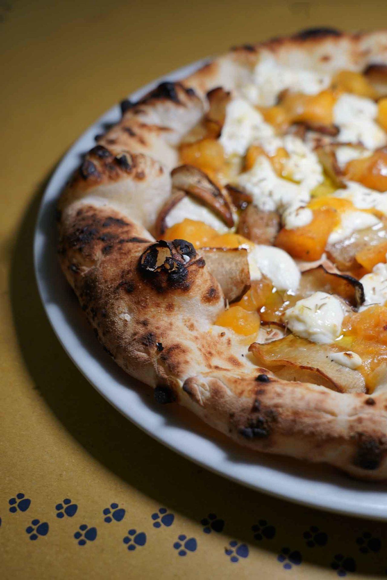 pizza pizzeria La Gatta Mangiona Roma