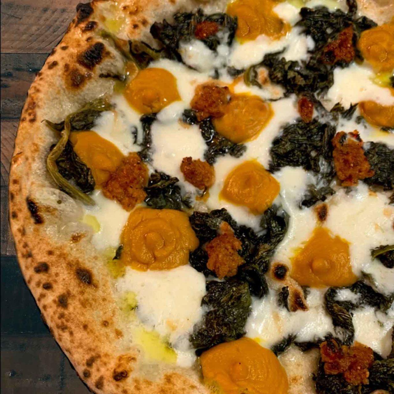 pizza zucca ventricina dry milano