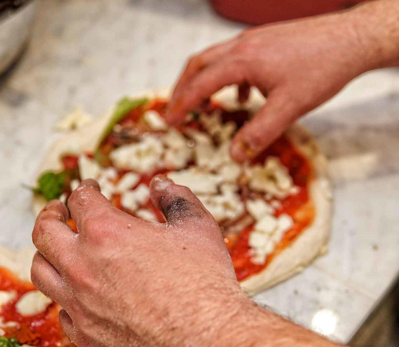 Coronavirus positivo pizzaiolo