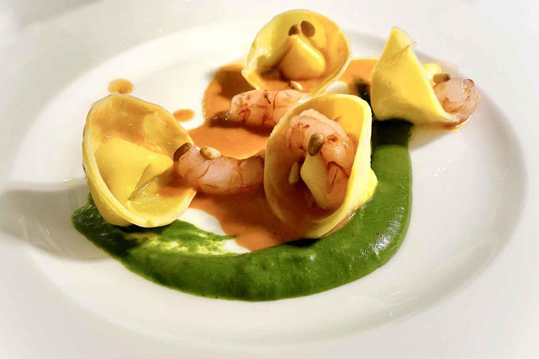 ristorante Amaranta Salento Puglia ravioli