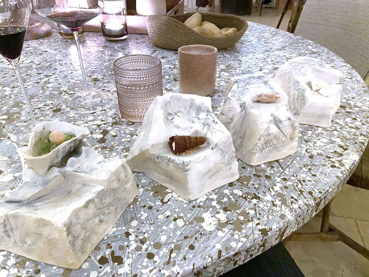 ristorante Due Camini Borgo Egnazia coccole