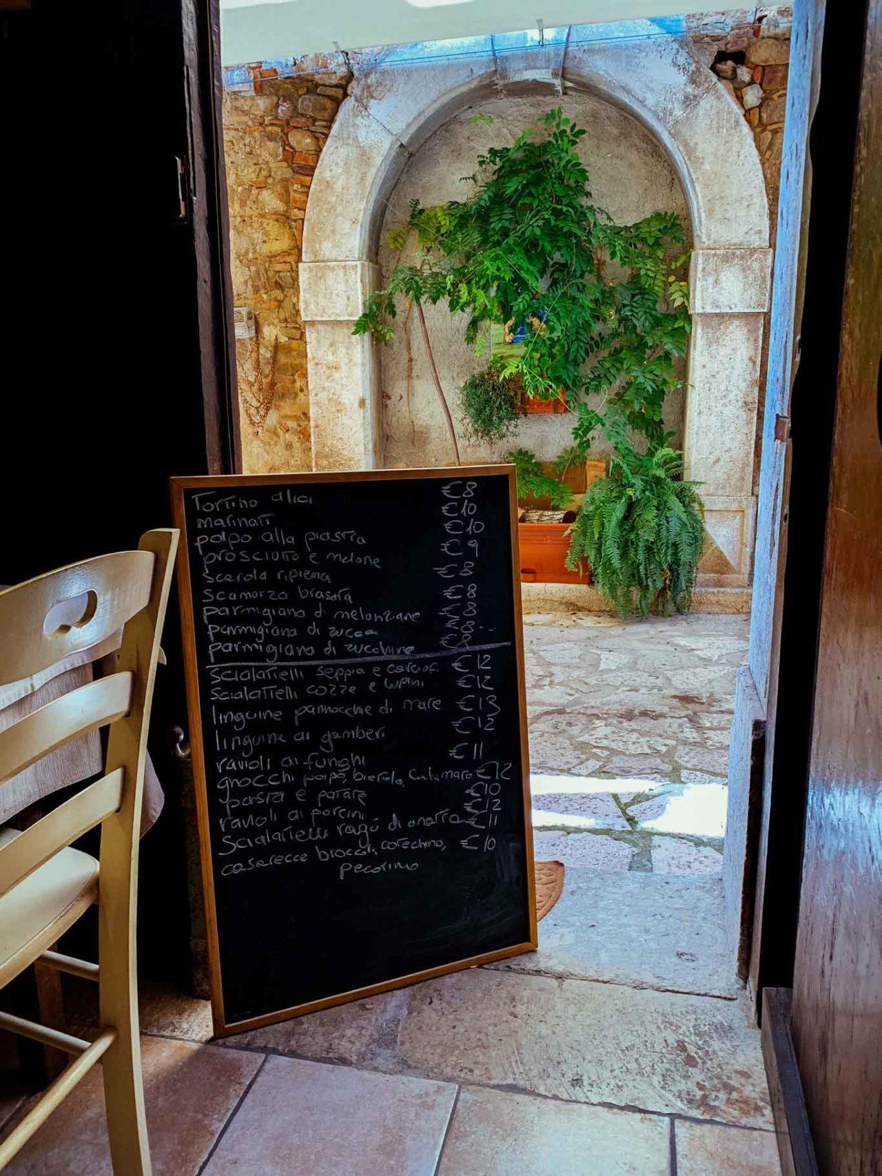 ristorante Nel Portone Apice Benevento menu