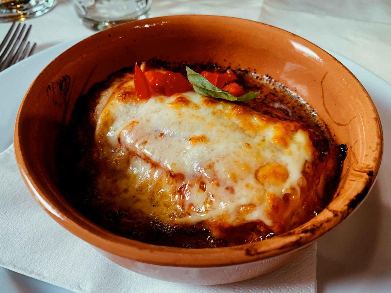 ristorante Nel Portone Apice Benevento parmigiana di zucca