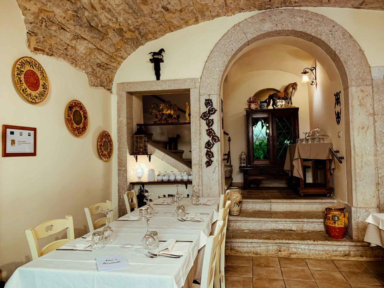 ristorante Nel Portone Apice Benevento ingresso