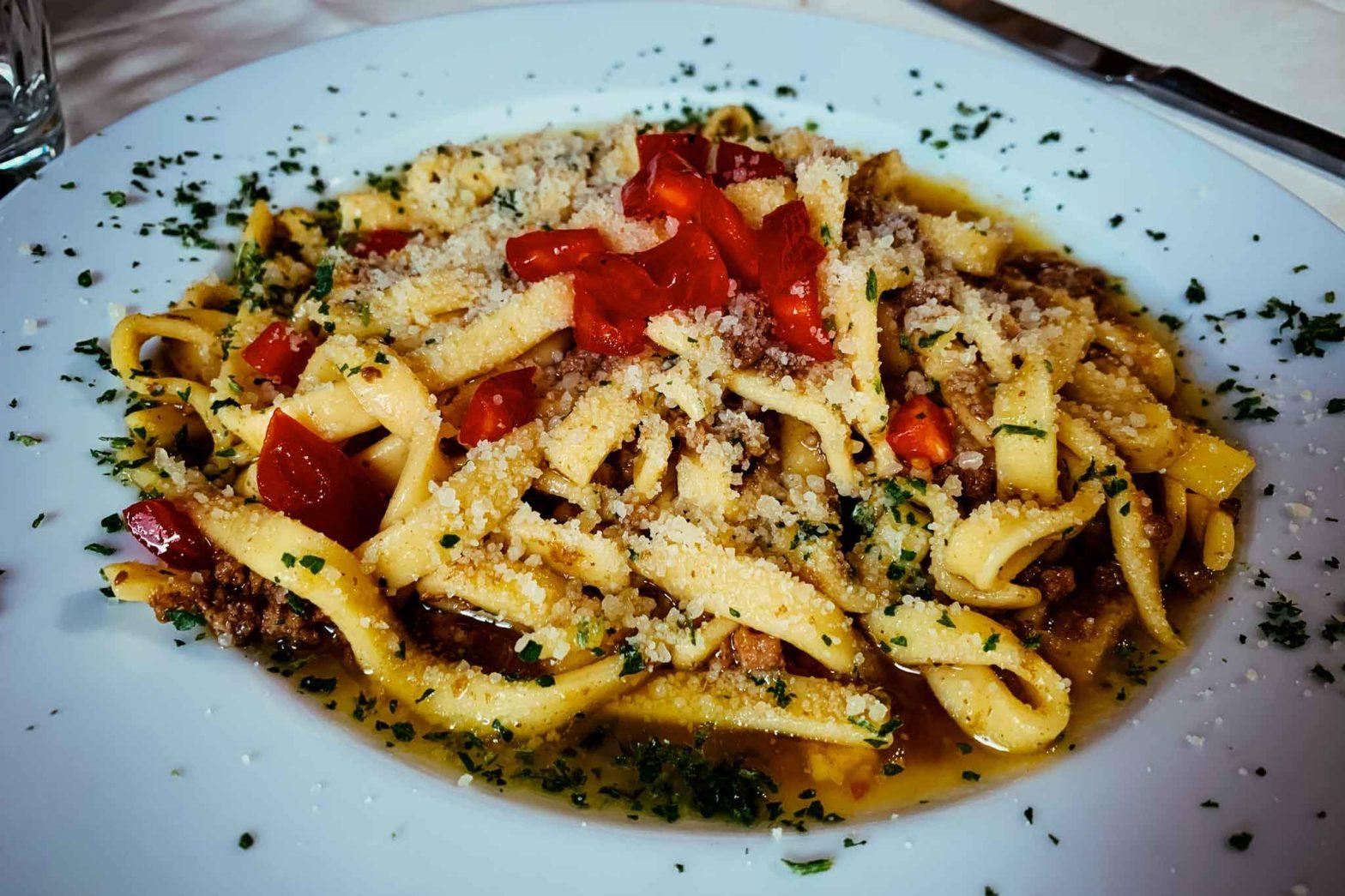 ristorante Nel Portone Apice Benevento scialatielli