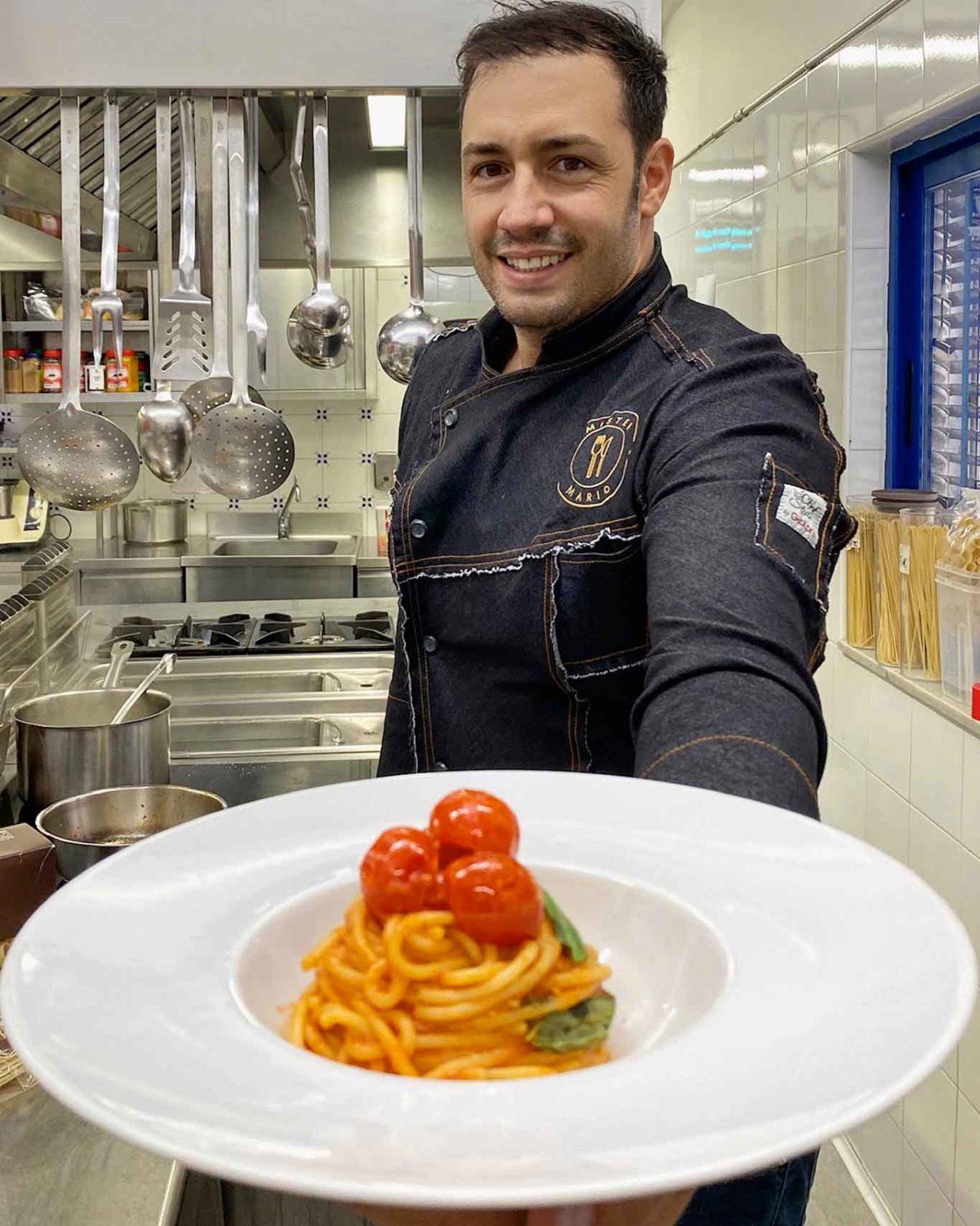 Una pasta italiana migliore: spaghetti al pomodoro