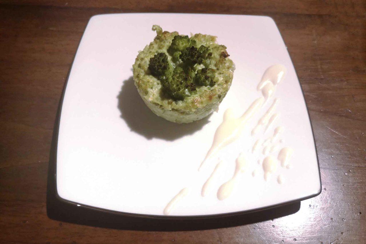 broccolo romanesco tortino
