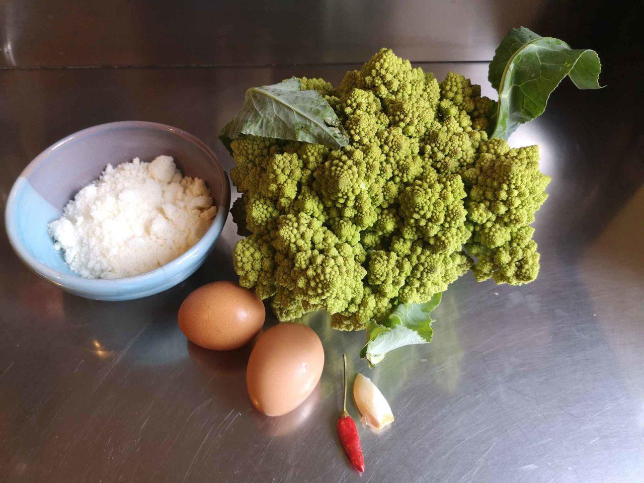 broccolo romanesco ingredienti tortino